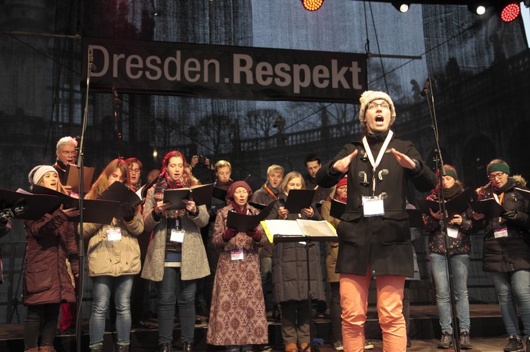 Dresden.Respekt: Adventssingen 2016