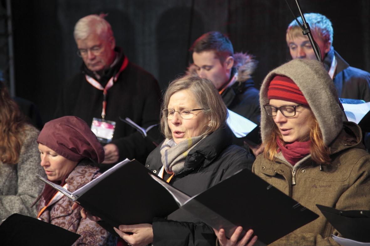Dresden.Respekt: Adventssingen 2016
