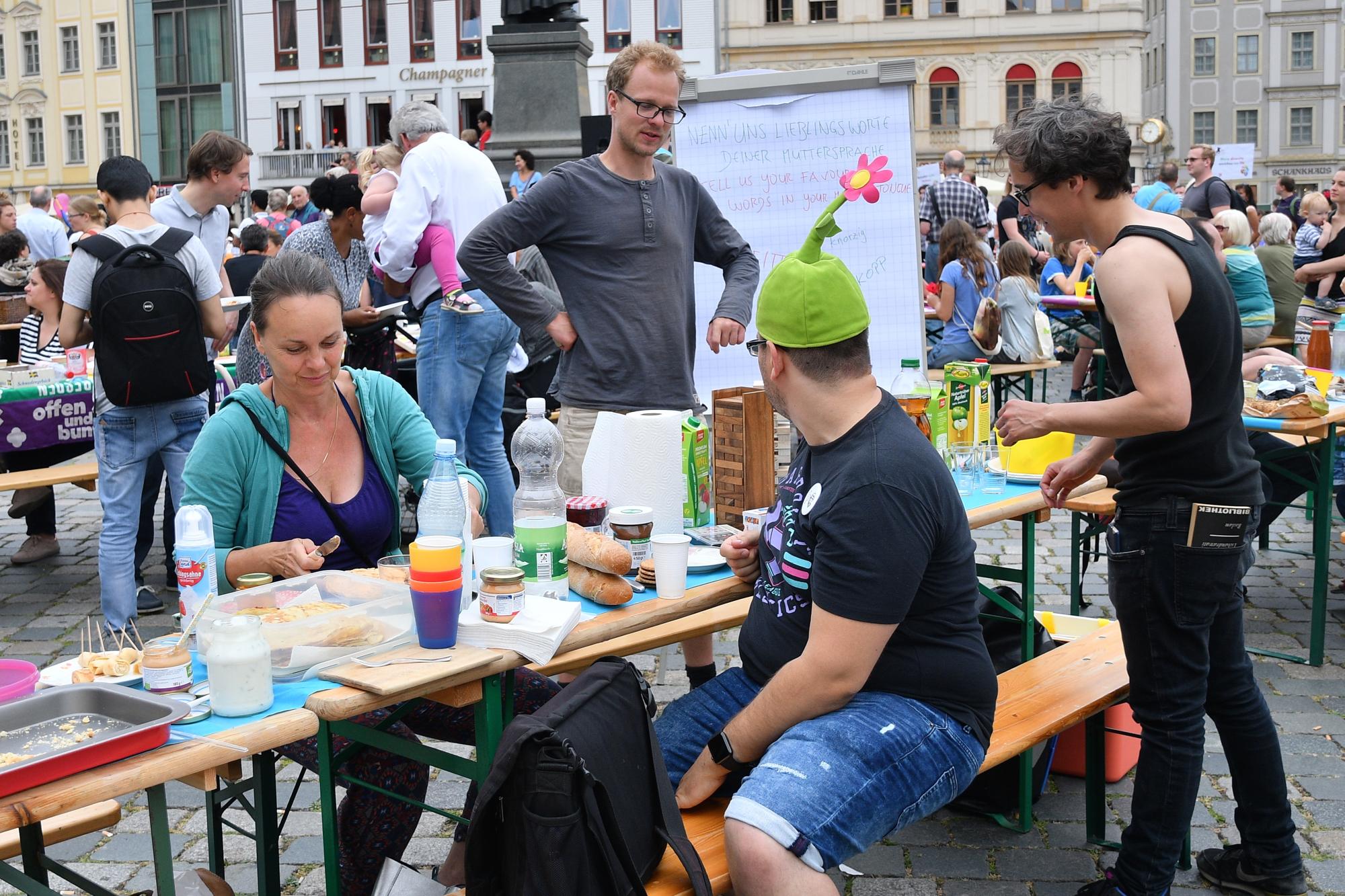 Dresden.Respekt: Gastmahl 2018