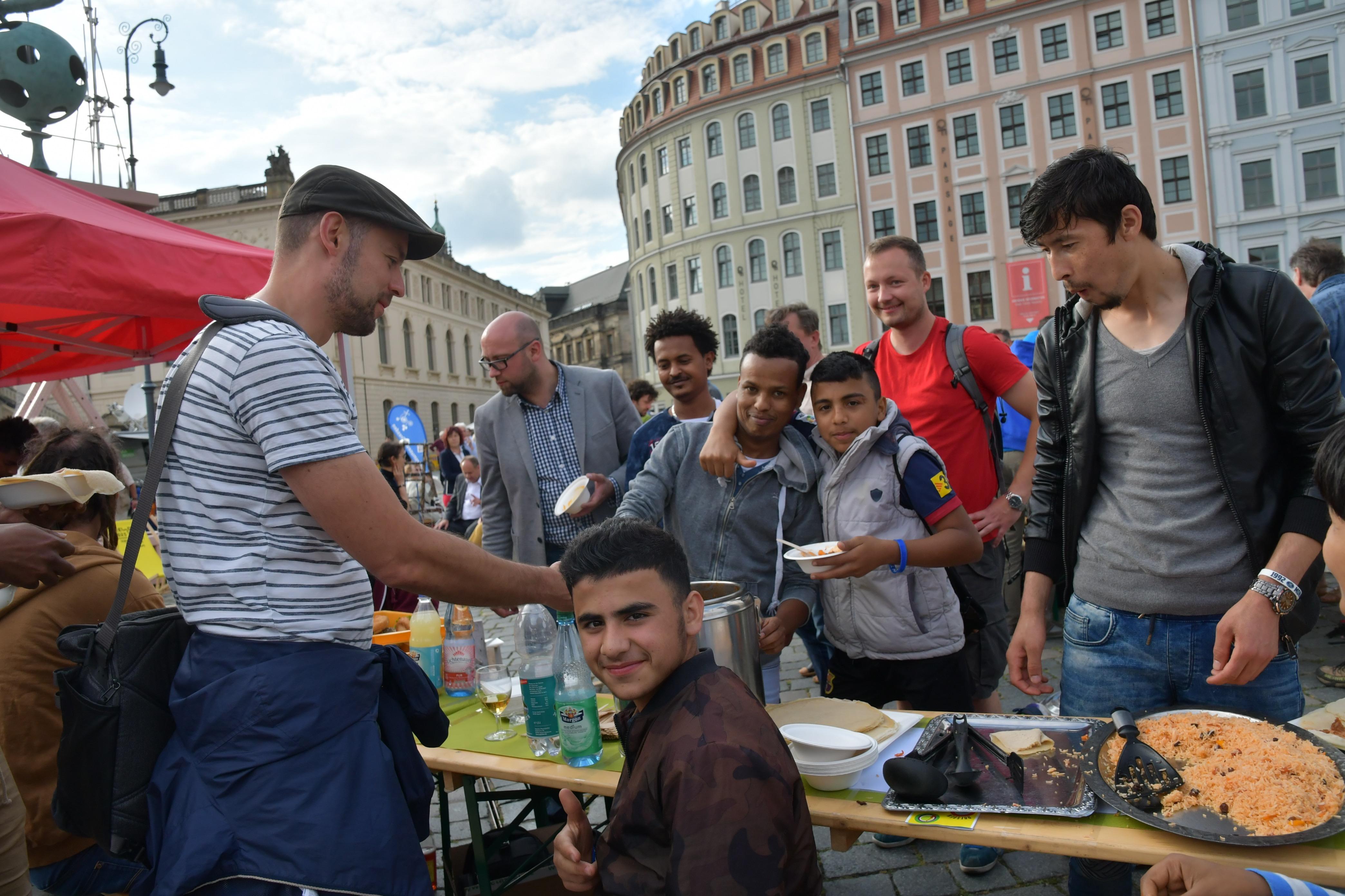 Dresden.Respekt: Gastmahl 2017